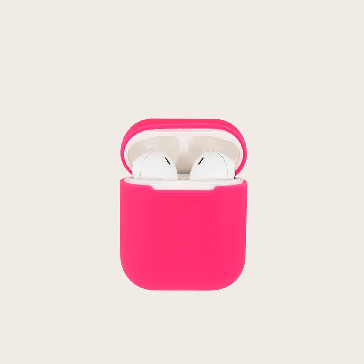 Neon Pink Airpods Charger Box Protector