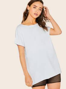 Oversize | T-Shirt | Boat | Neck
