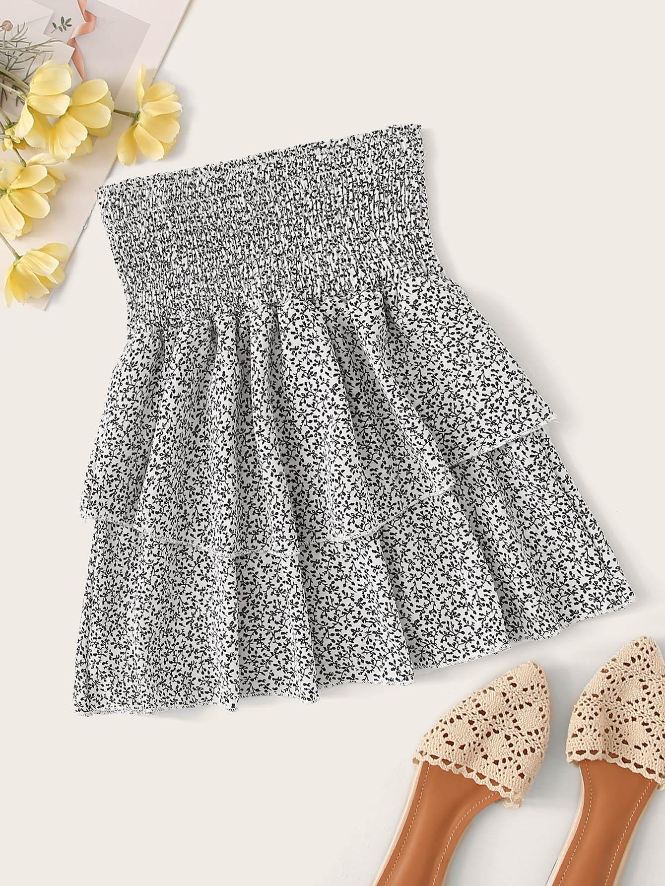 Фото 5 - Цветахаки Одноцветный Притягательный стиль Платья от SheIn цвет цветахаки