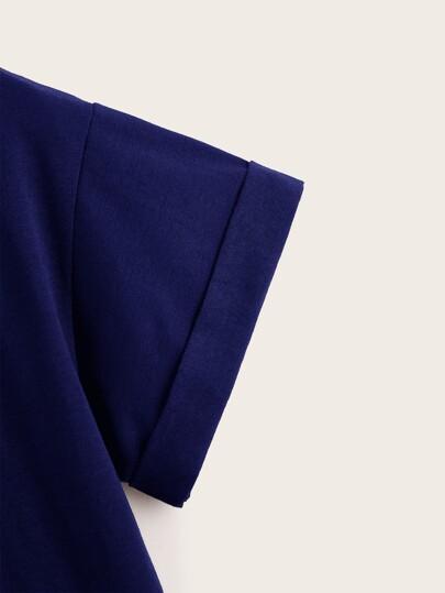 Фото 2 - Серьги в форме вишни со стразами 1 пара от SheIn цвет многоцветный