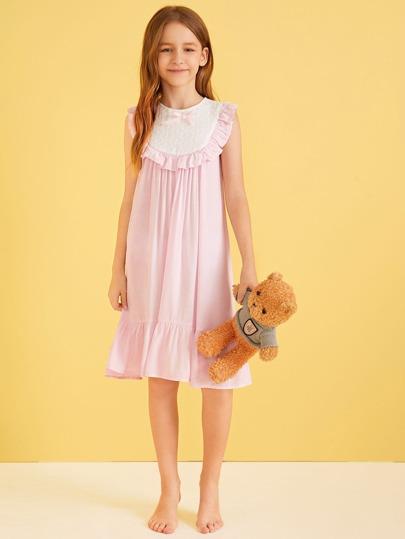 Фото 7 - Однотонное вязаное платье с халтером от SheIn цвет розовые