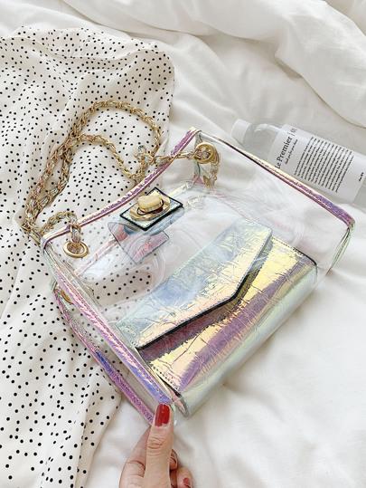 Фото 2 - Цветахаки Одноцветный Притягательный стиль Платья от SheIn цвет цветахаки