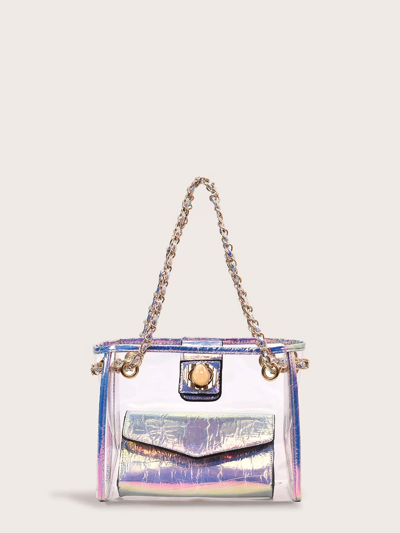 Фото - Цветахаки Одноцветный Притягательный стиль Платья от SheIn цвет цветахаки