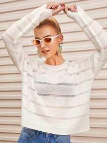 Shoulder | Sweater | Sheer | Semi