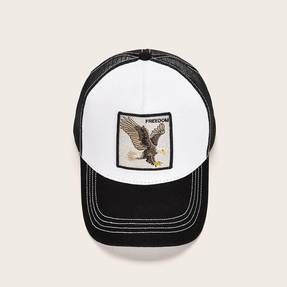 Мужская бейсбольная кепка с вышивкой от SHEIN
