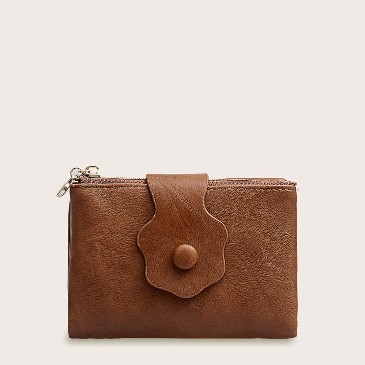 Сложите кошелек с держателем карты от SHEIN