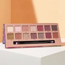 14 Color Shimmer Eyeshadow Palette