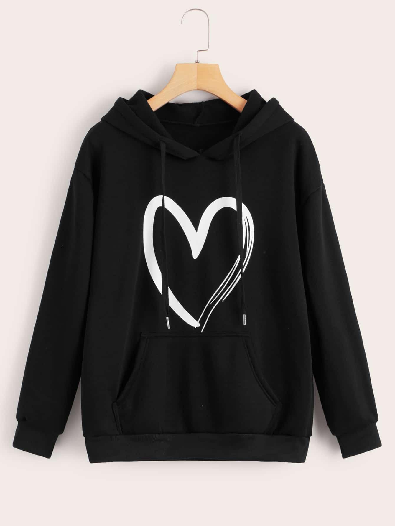 I Love Heart Scotland Kids Hoodie Sweatshirt