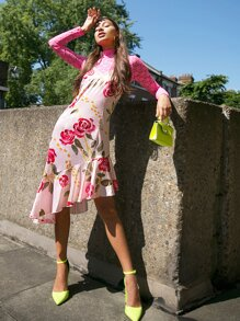 Ruffle | Floral | Dress | Lace | Top