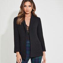 Boucle Formal Tweed Blazer