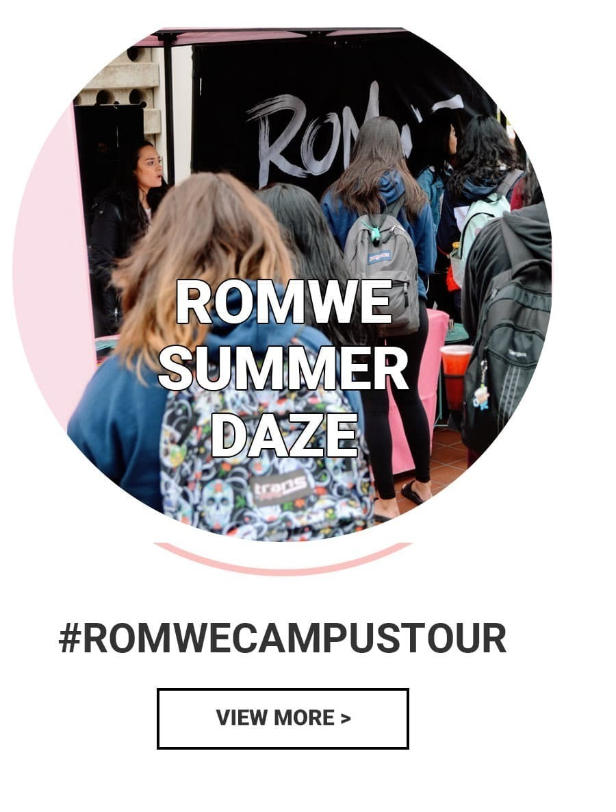 Shop The Latest Girls & Guys Fashion Trends at ROMWE
