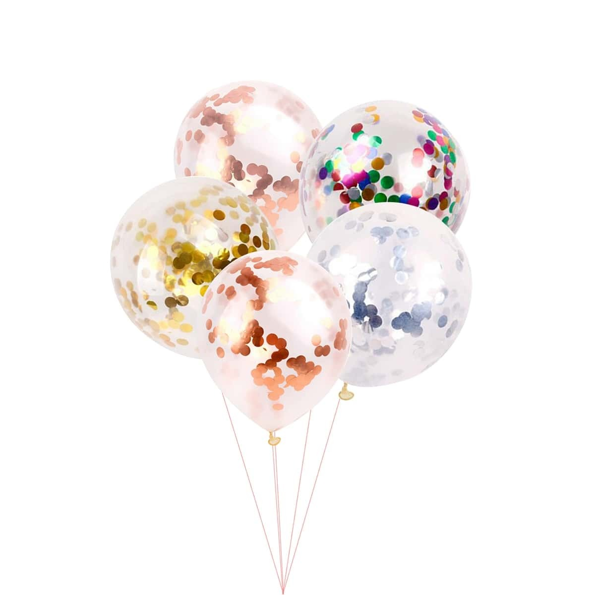 Willekeurige kleur 12inches Sequin Balloon 5st