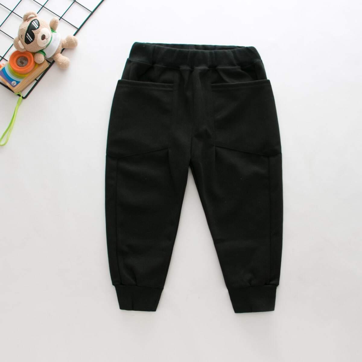Спортивные брюки с эластичной талией для мальчиков