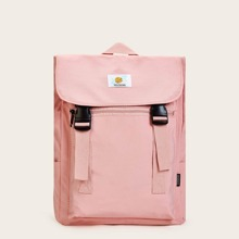 Double Release Buckle Front Backpack