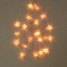 10pcs Flamingo Shaped Bulb String Light 2M