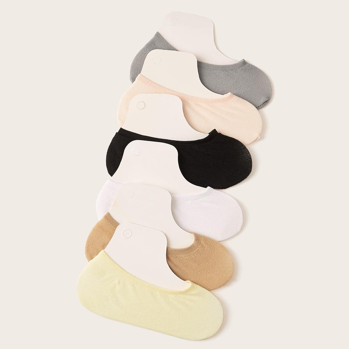 Simple Invisible Socks 6pairs