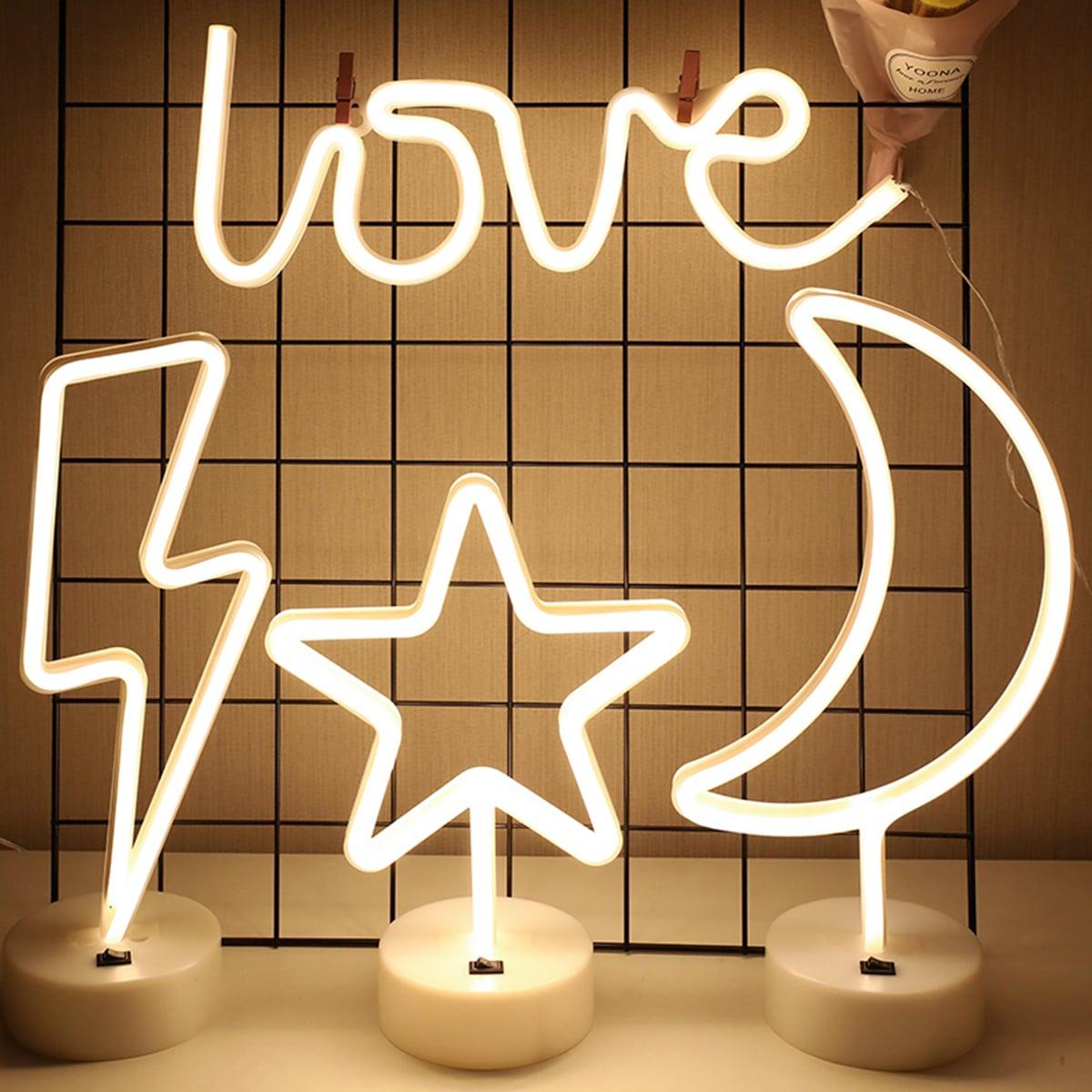 Creative Moon & Star Nachtlampje 1pc