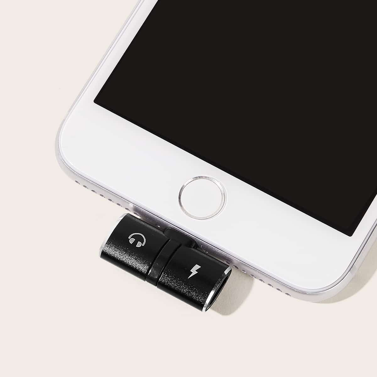 iPhone 2 in 1 USB-converter