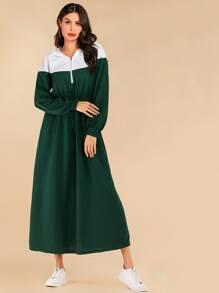 Sweatshirt   Dress   Hood