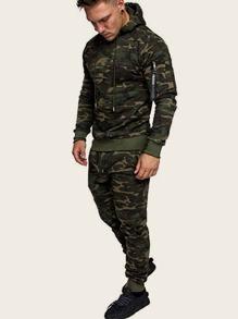 Camouflage | Drawstring | Hoody | Print | Men