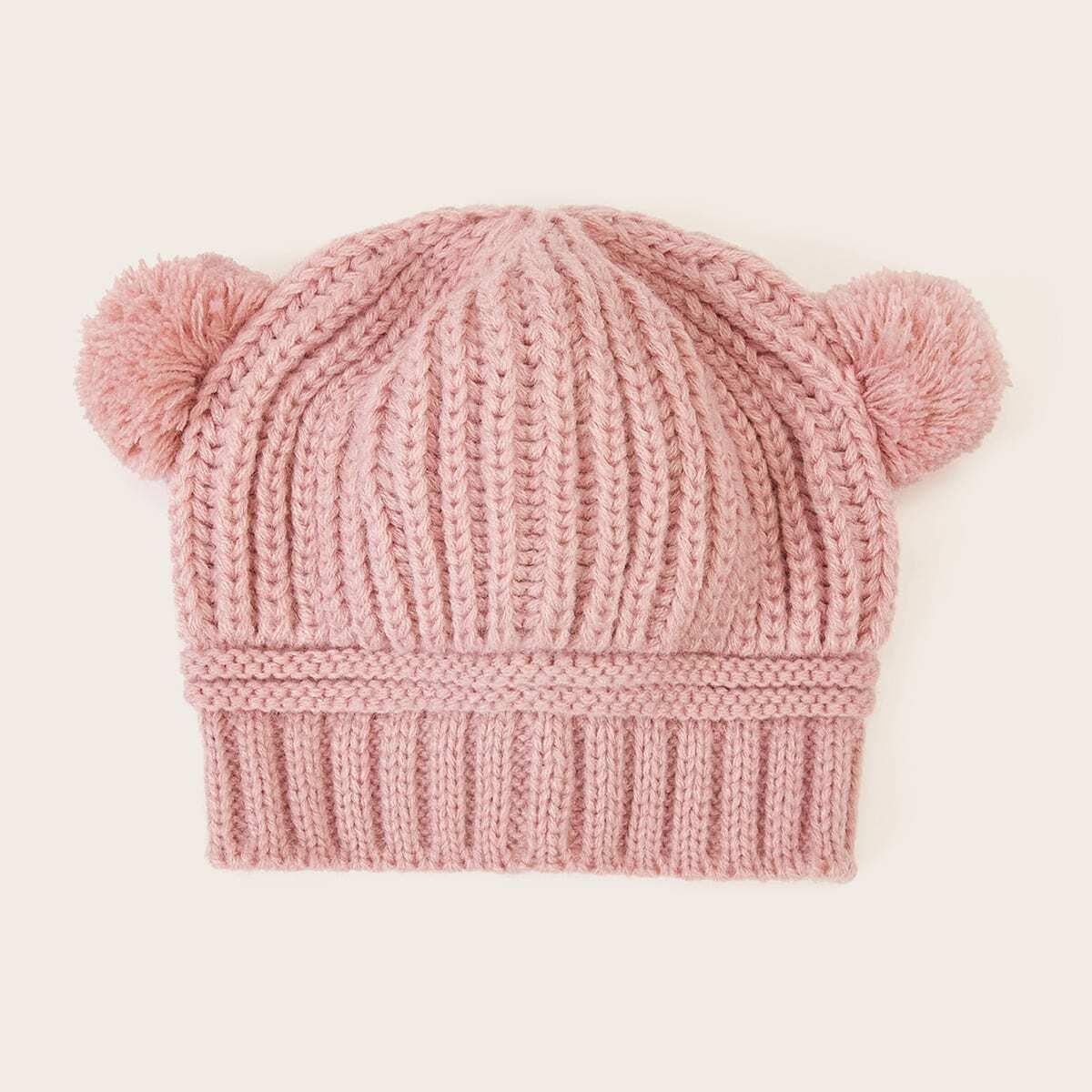 Шляпа с помпоном для маленьких девочек от SHEIN