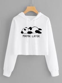 Sweatshirt | Drawstring | Hood