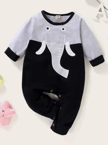 Elephant | Jumpsuit | Baby