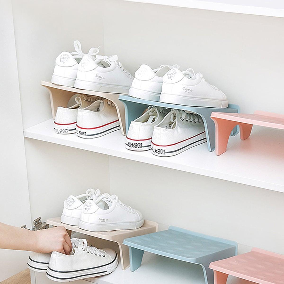 Dubbellaags schoenen opbergrek 1pc