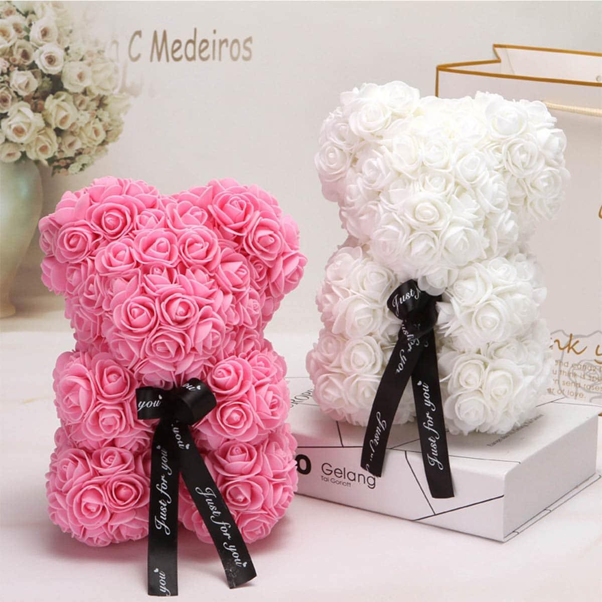 DIY Kunstmatige Rose Flower 144 stks