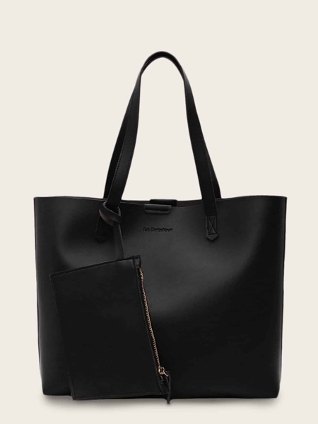 Minimalist Tote Bag With Purse