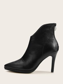 Black Business Casual Other Boots, size features are:Bust: ,Length: ,Sleeve Length: