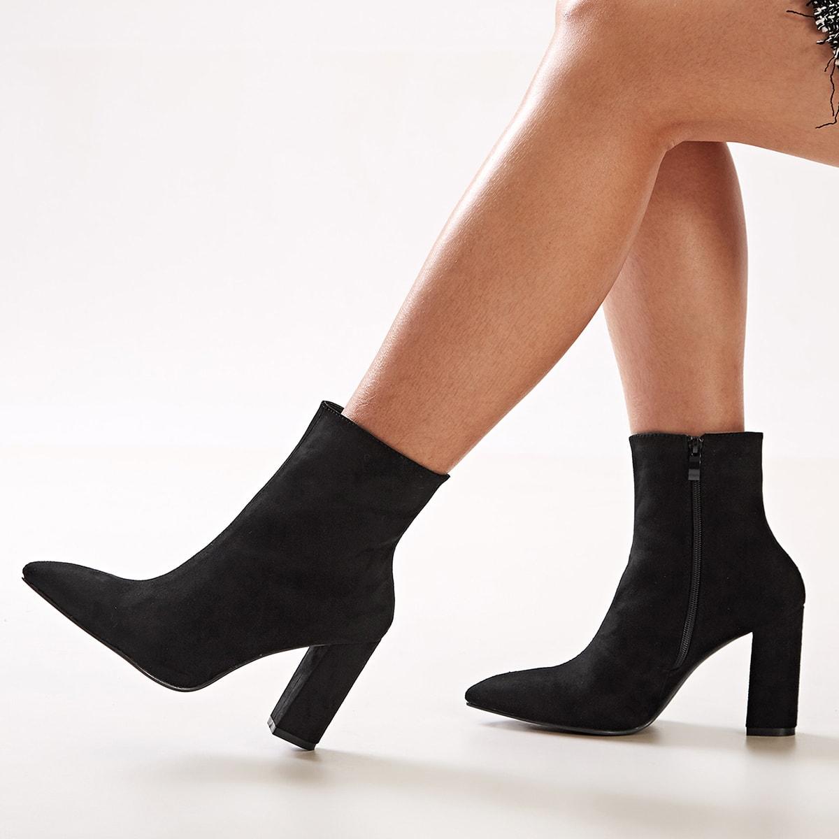 Zwart Feest Laarzen