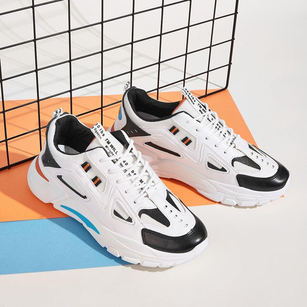 Wit Comfortabel Kant Heren sneakers