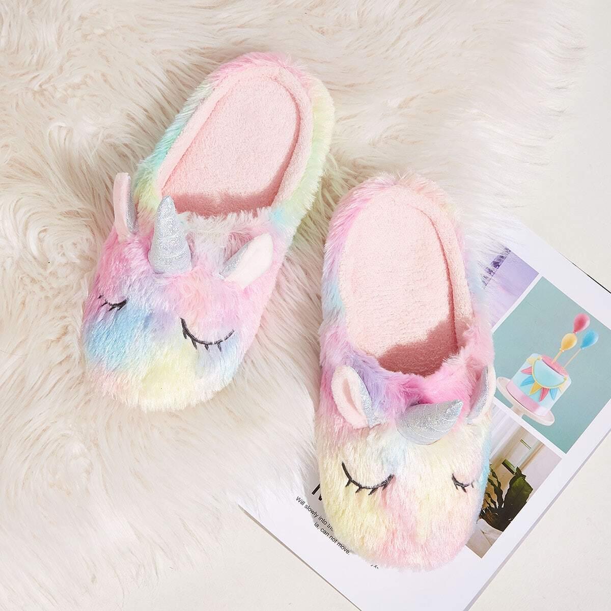 Veel kleurig Comfortabel Spotprent Slippers