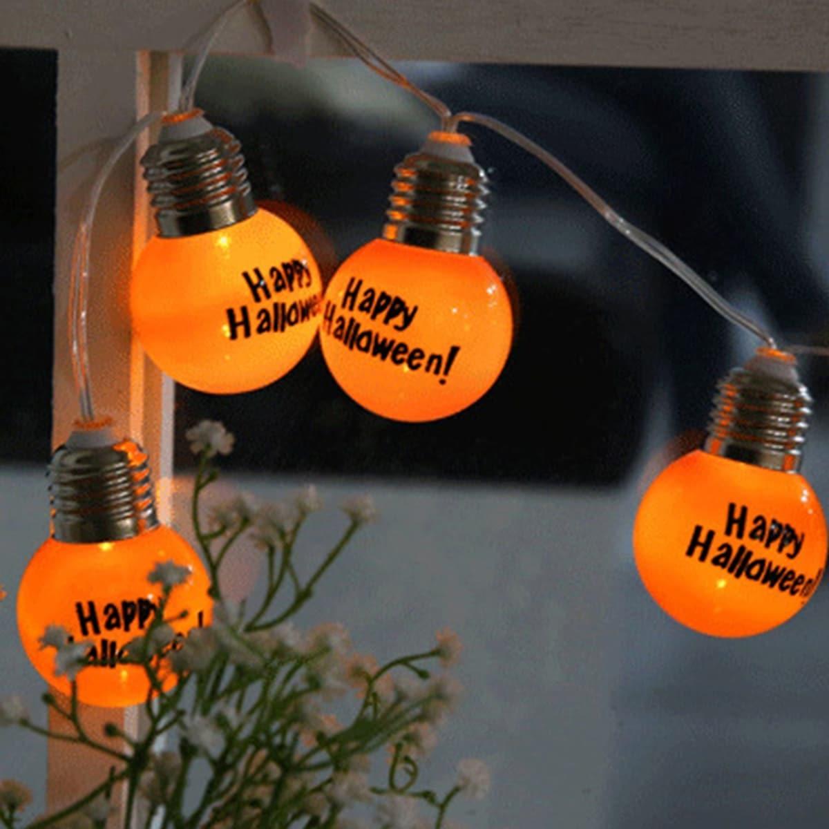 10 stks Lamp Halloween Decoratief Lichtslinger