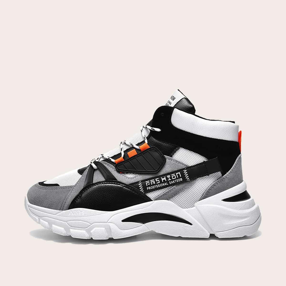 Veel kleurig Comfortabel Kant Heren sneakers