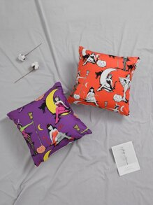 Halloween | Cushion | Witch | Cover | Print