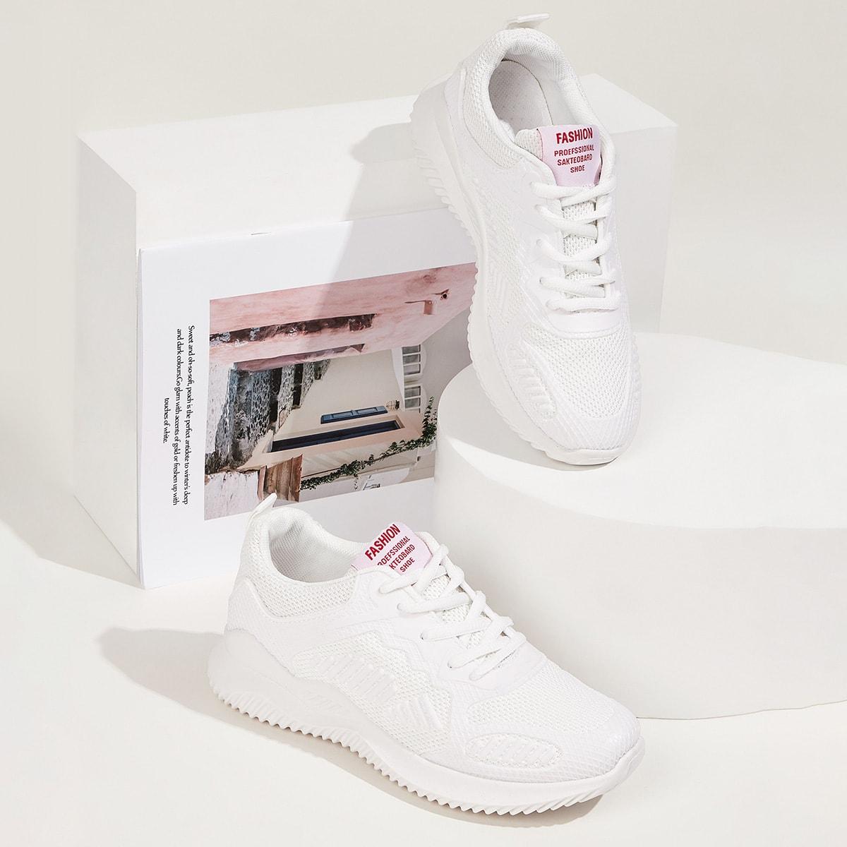 Wit Comfortabel sneakers