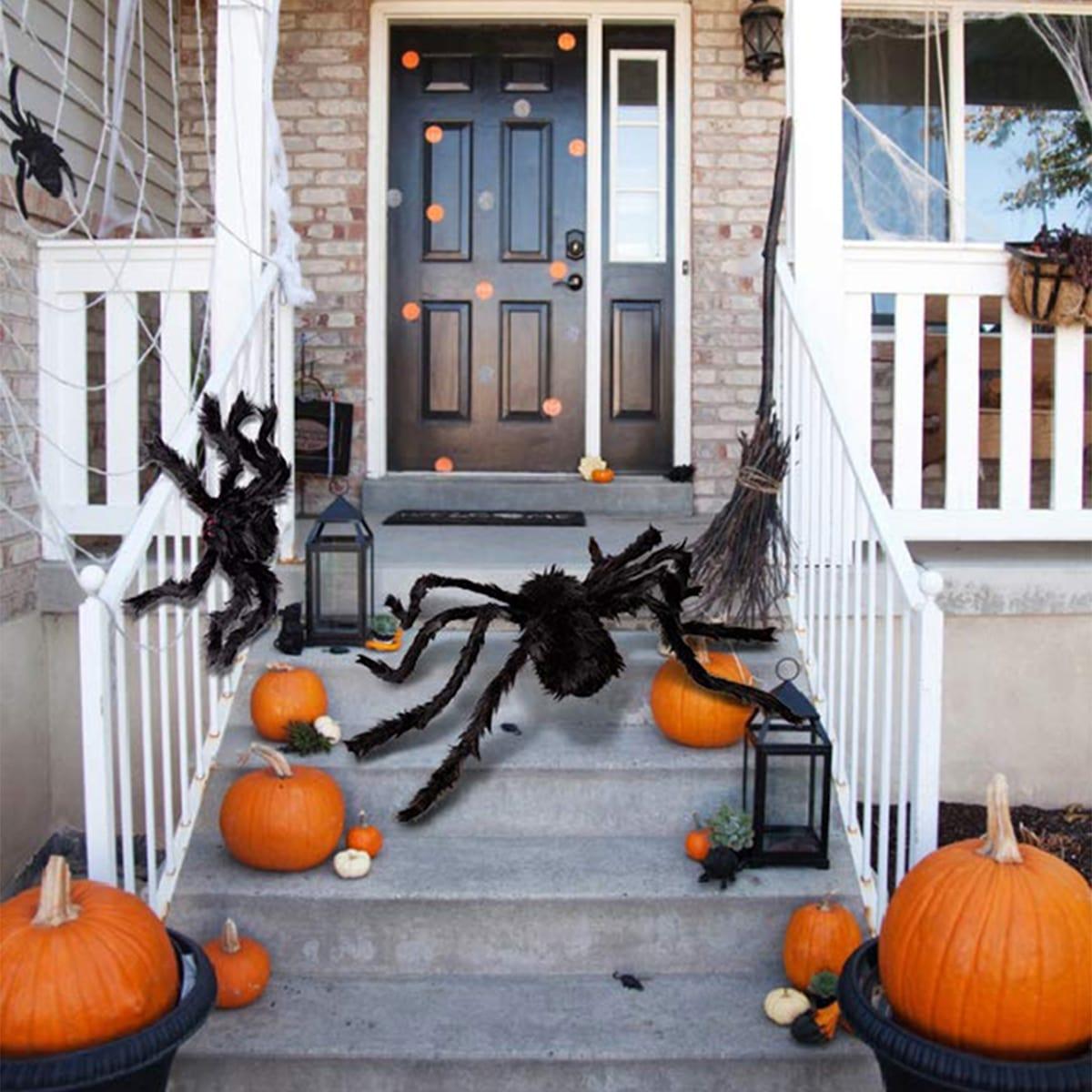 1pc gesimuleerde Spider Halloween-decoratie