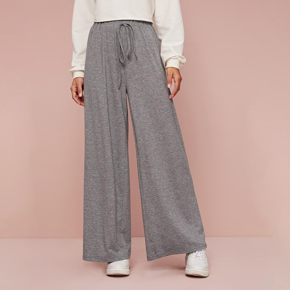SHEIN / Hosen mit Taillenband und weitem Beinschnitt