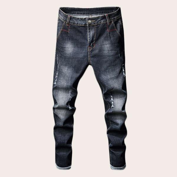 Men Ripped Skinny Jeans