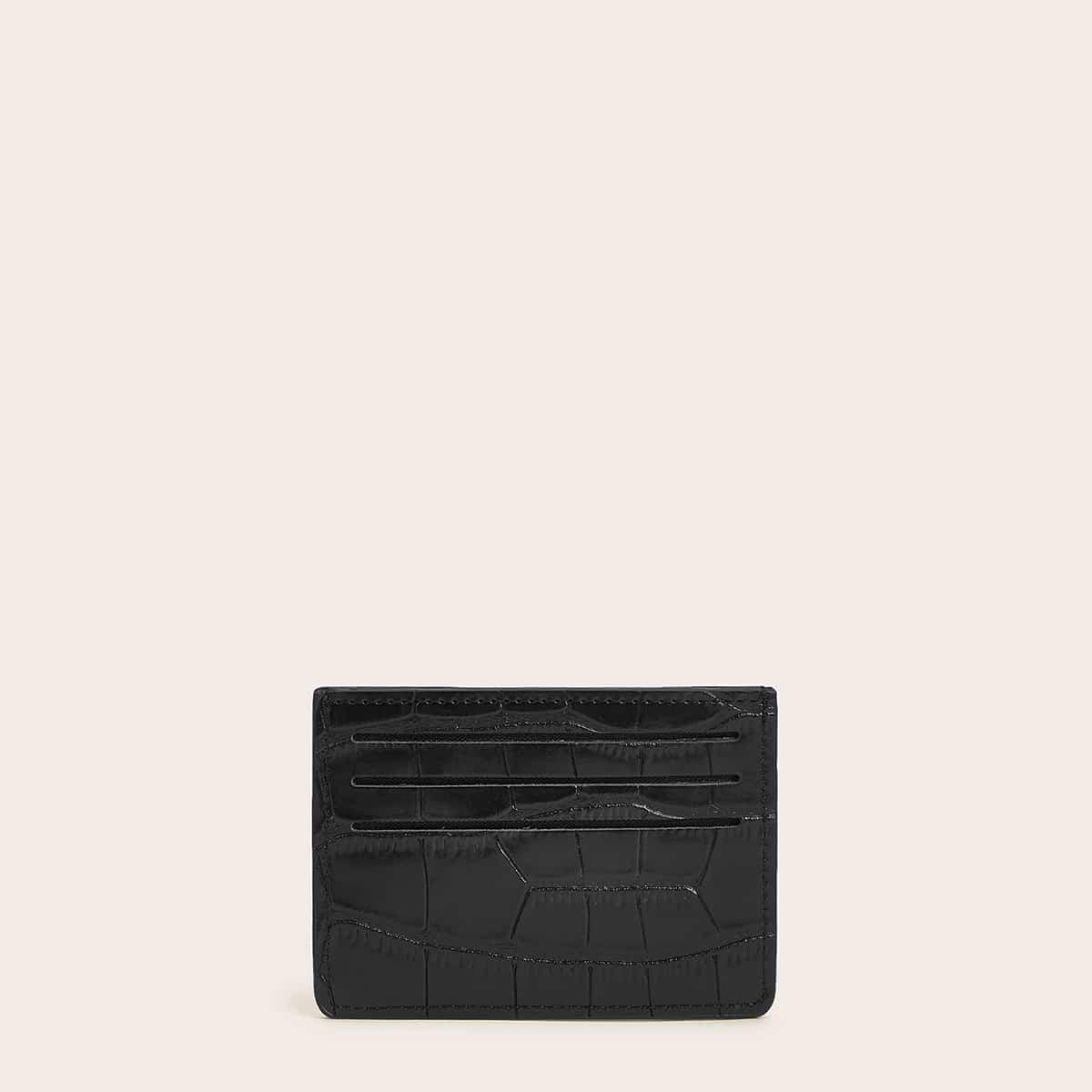 Рельефная сумка для карты от SHEIN