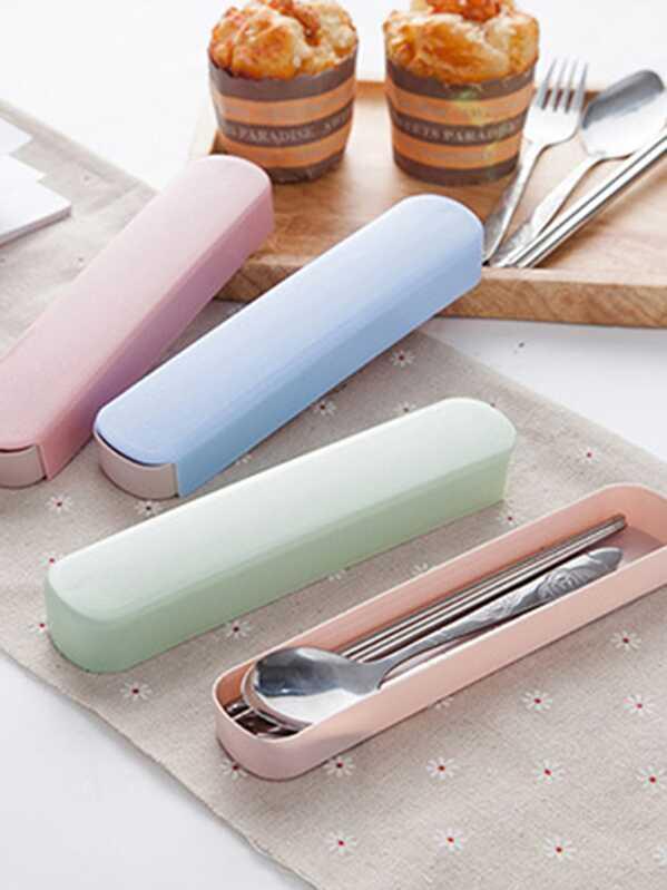 3pcs Portable Travel Cutlery Set