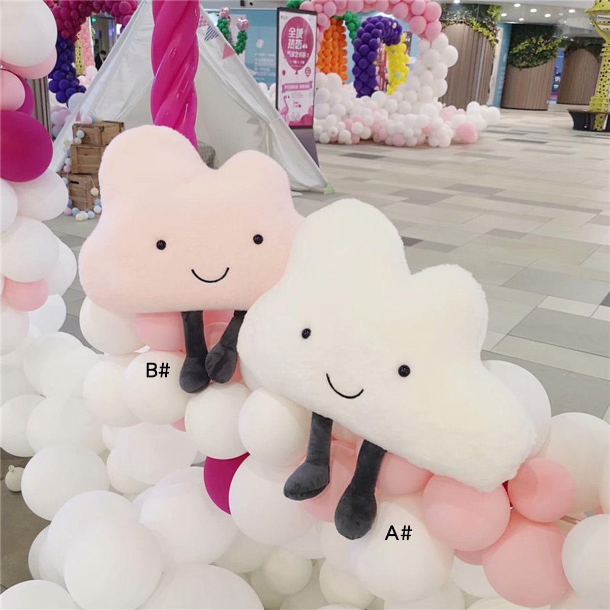 1pc leuk wolkvormig decoratief kussen