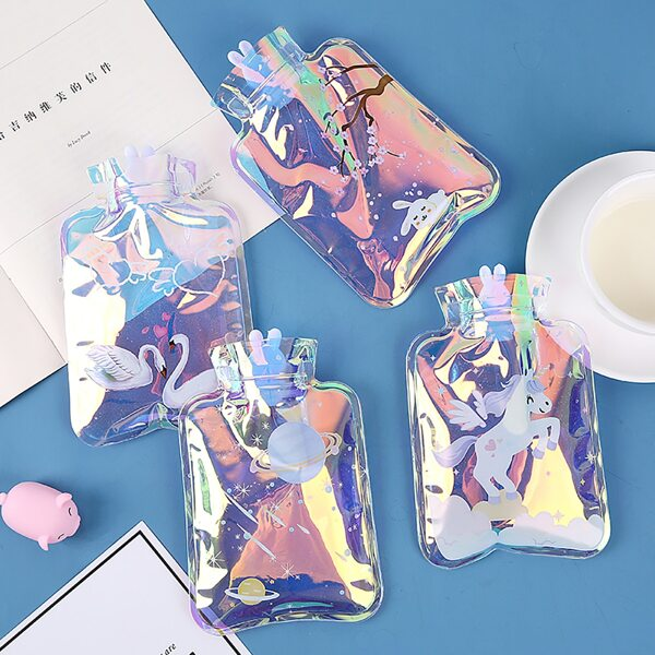 1pc Cartoon Graphic Holographic Hot Water Bag