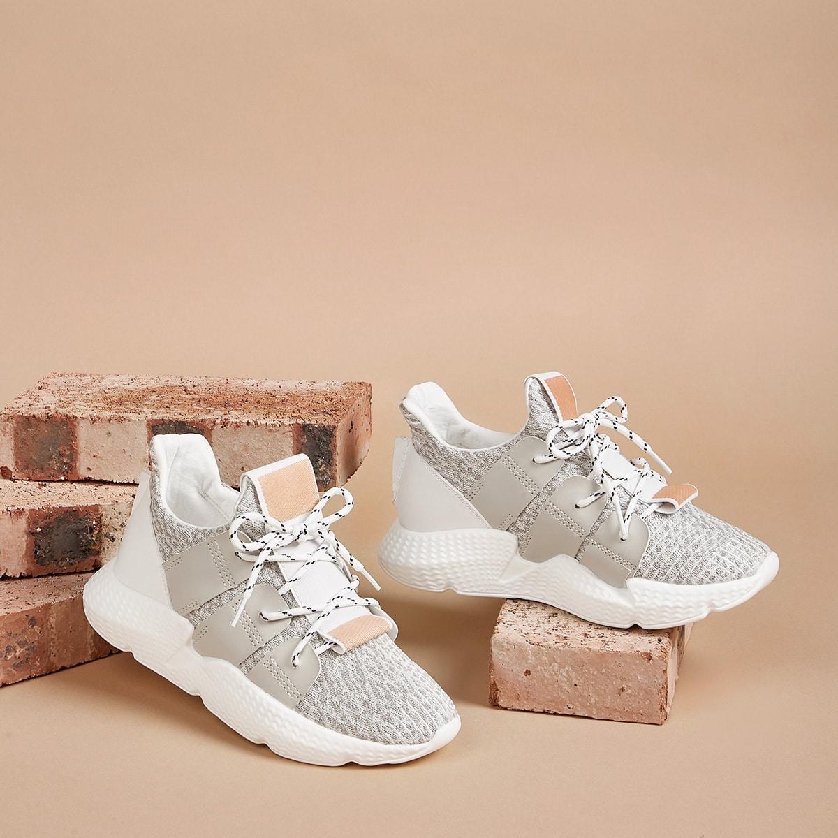 Grijs Comfortabel sneakers