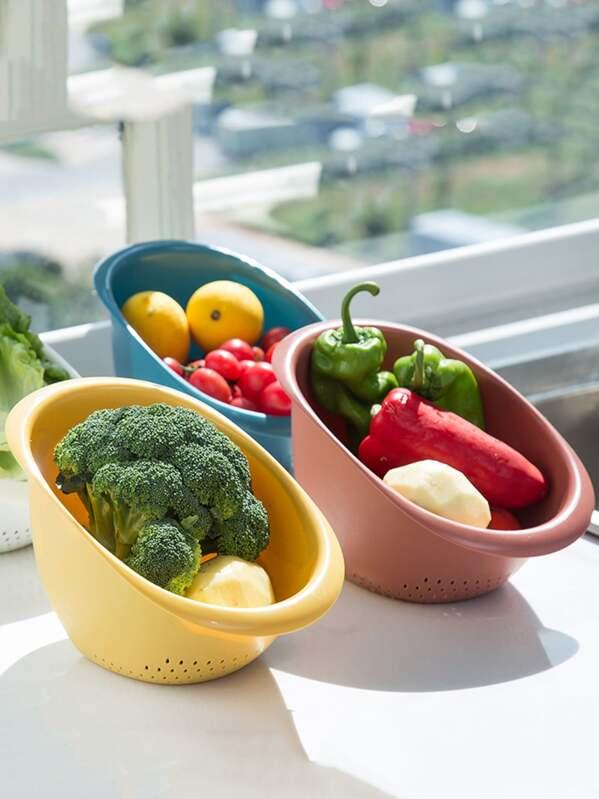 1pc Kitchen Multi-purpose Drain Basket