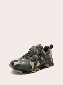 Camouflage | Sneaker | Toddler | Velcro | Strap