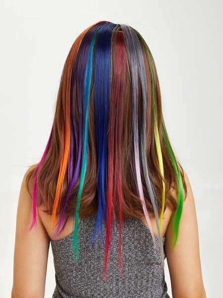 Colorful Hair Tinsel 10pcs