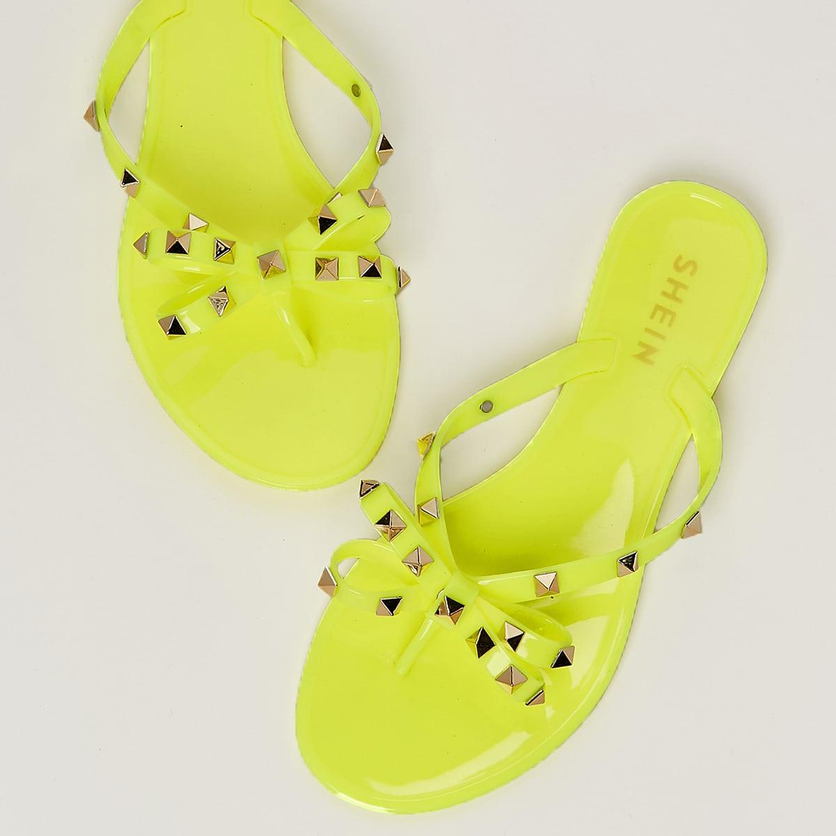 Geel Feest Slippers